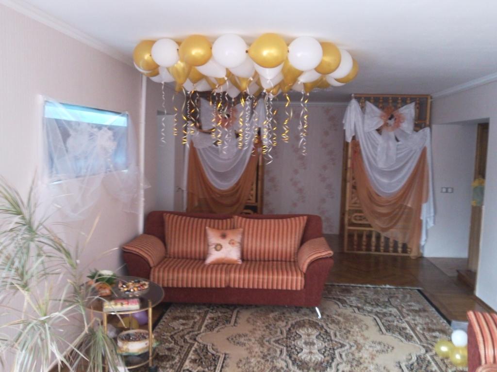 Украшаем дом невесты своими руками
